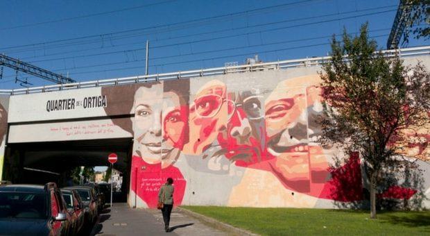 quartiere Ortica di Milano-storia. personaggi murales