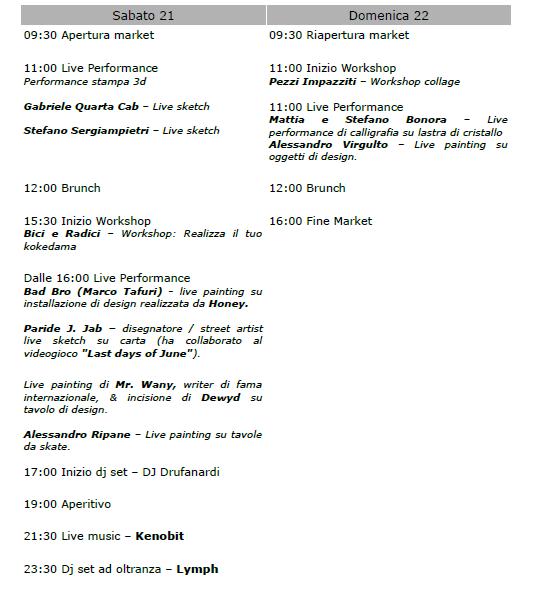 marketplatz fuorisalone programma
