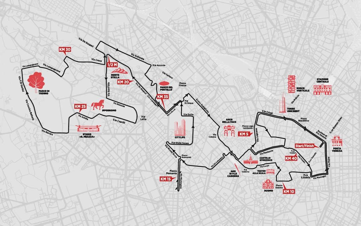 percorso-milano marathon-2019
