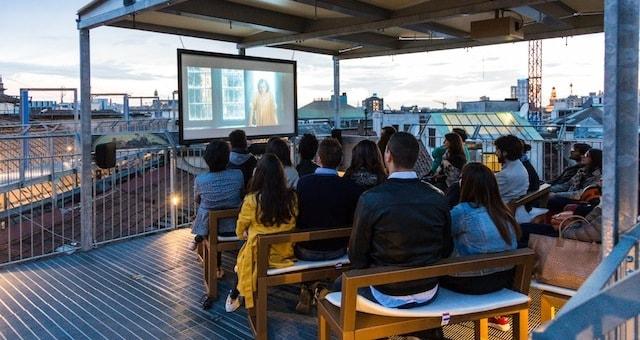 Cinema sui tetti 2018