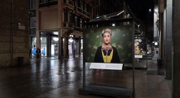 Huawei mostra a Milano