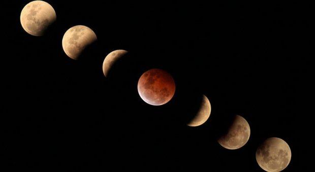eclissi di luna 27 luglio milano
