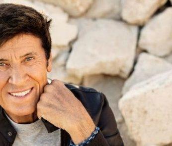 "Gianni Morandi tour estivo 2018 ""D'amore d'autore"""