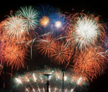 ferragosto 2018 fuochi d'artificio lombardia