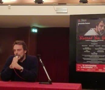 Vincent Van Gogh Alessandro Preziosi Teatro Manzoni