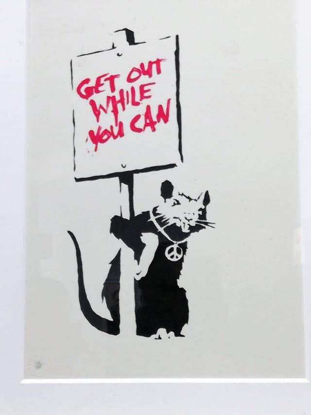 Banksy Mudec