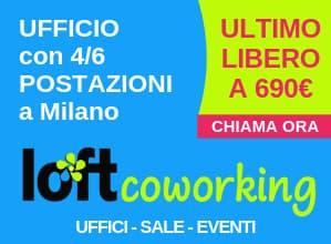 Loft Coworking Milano offerta 2019