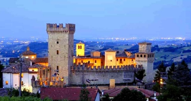 cena romantica castello