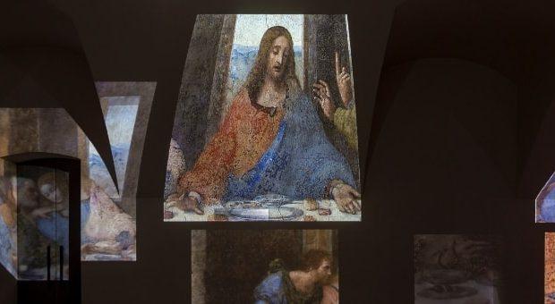 Leonardo & Warhol mostra