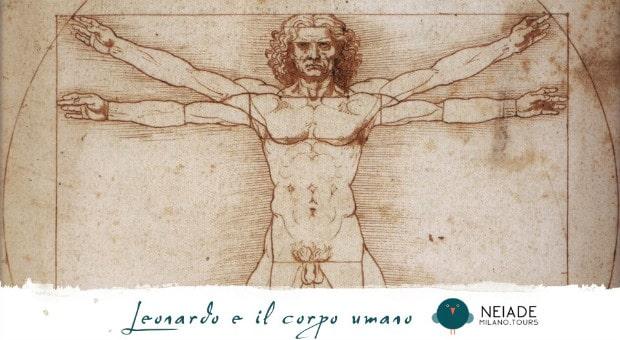 Leonardo da Vinci e il corpo umano
