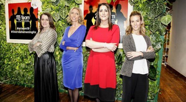 M-Team meningite salute bambini Tania Cagnotto Sonia Peronaci Amanda Vitiello Elena Bozzola