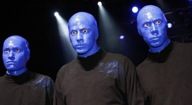 blue man group milano