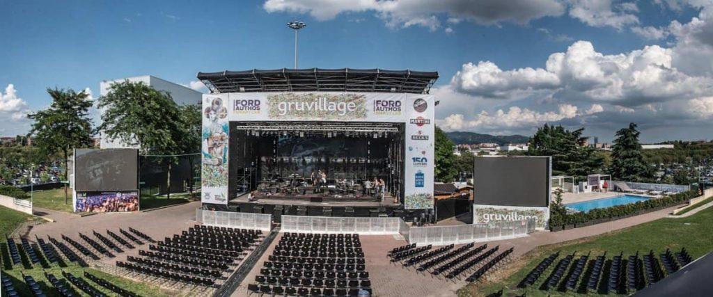 gruvillage 2019 palco