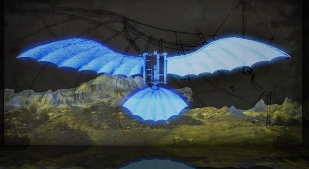 Leonardo Da Vinci 3D fabbrica del vapore
