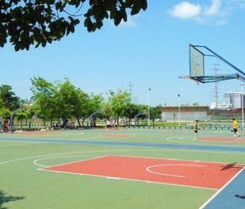 Campo da basket estate