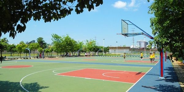 Campo da basket estate