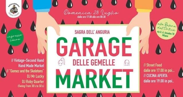 garage market 28 luglio