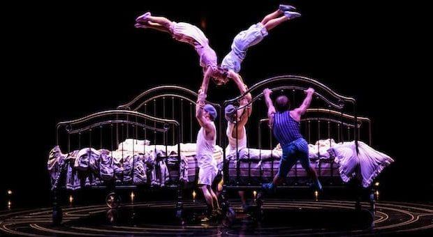 corteo cirque du soleil milano