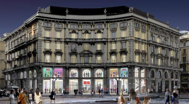Uniqlo Milano apertura