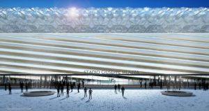 veduta frontale ristrutturazione San Siro - progetto JM Architecture