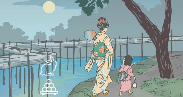 festa della luna piena tenoha