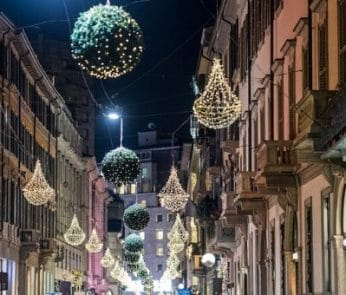 Christmas Shopping Experience MonteNapoleone District