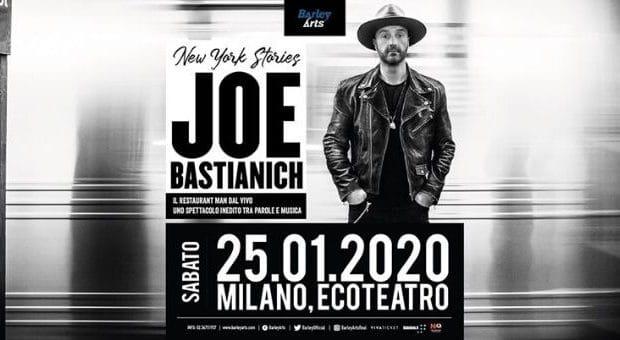Joe Bastianich concerto milano