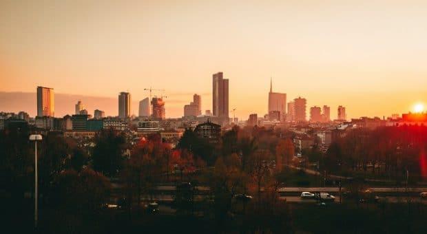 milano-tramonto-skyline